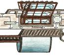 Kristall-Werfer