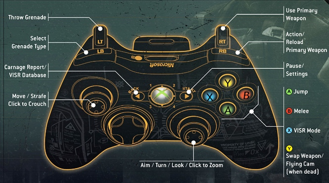 Halo Banshee Drawing Controls For Odst Gameplay