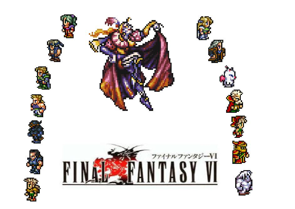 Final Fantasy Vi Square 1994 Super Nintendo Games Revisited