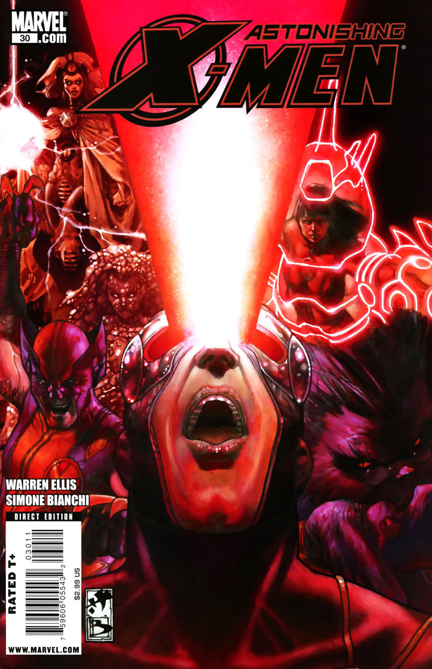 Astonishing X Men Vol 3 30 Marvel Comics Database Wikia
