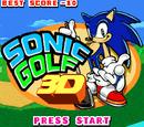 Sonic Golf 3D