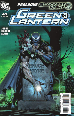 Cover for Green Lantern #43 (2009)