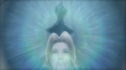 Aerith in Cloud's right eye