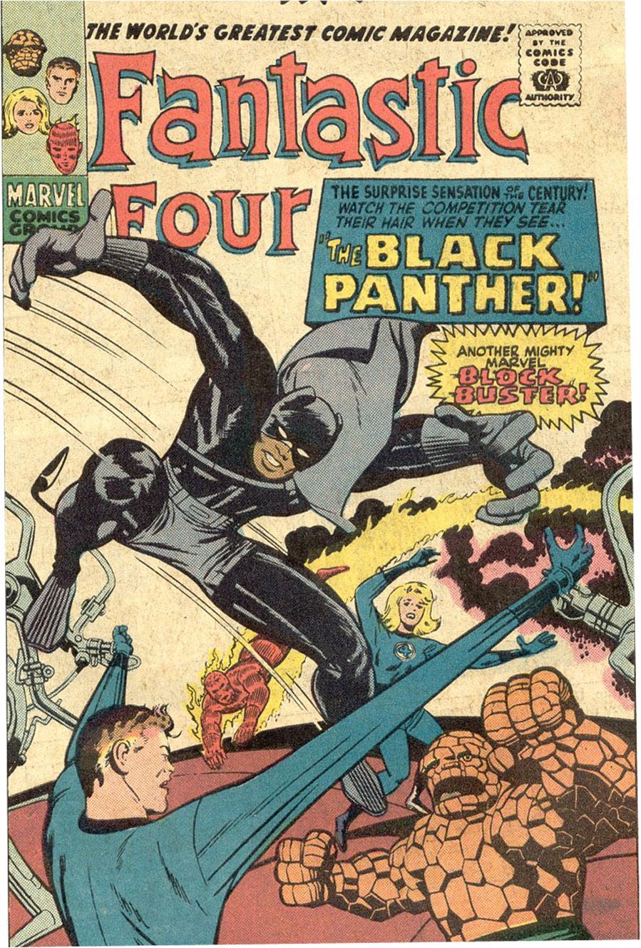 Fantastic Four Vol 1 52 - Marvel Database - WikiaBlack Panther Marvel Avengers Alliance