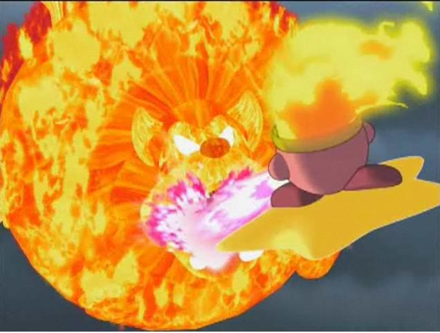Fire Lion Kirby Fire kirby expanding fire lion