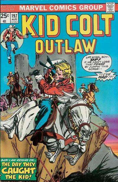 KID COLT OUTLAW PICTURE LIBRARY,NO 04,1960`S ISSUE,GOOD FOR AGE,51 yrs old,RARE.