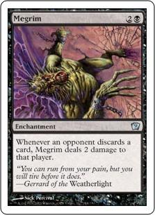 Megrim - The Magic: The Gathering Wiki - Magic: The Gathering Cards ...