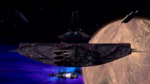 The artefact arrives at Babylon 5