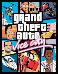 GTA Vice City Box Art