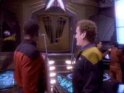 Sisko und OBrien auf der OPS