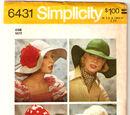 Simplicity 6431