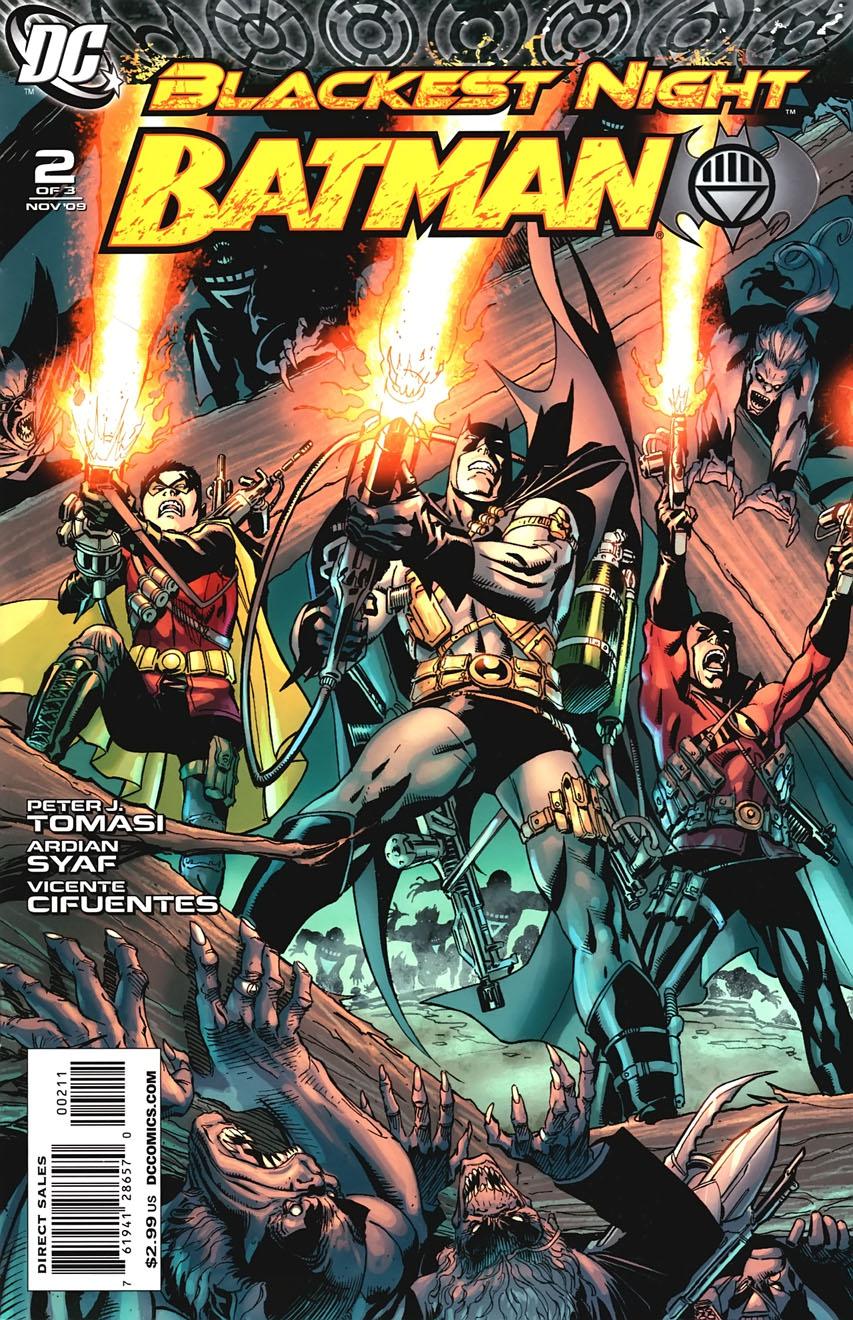 blackest night batman dc comics database
