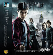 Portuguese six Harry Potter movies Cover set