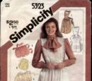 Simplicity 5323