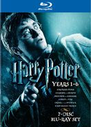 Harry Potter Years 1-6 Blu-Ray Cover 1