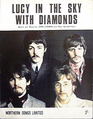 Lucy In The Sky With Diamonds By The Beatles Song Lyrics Album