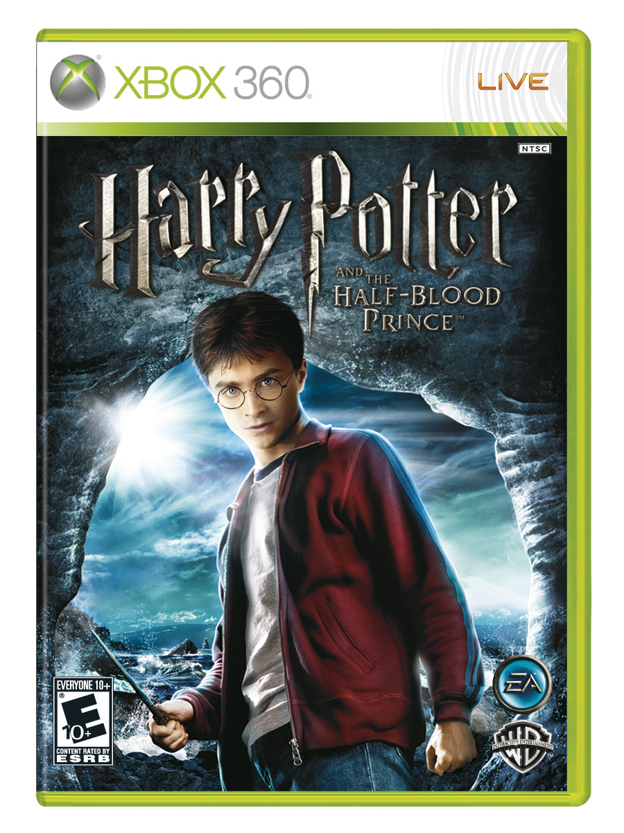 Image - Half-Blood Prince video game XBOX 360 cover art ...Xbox 360 Game Covers
