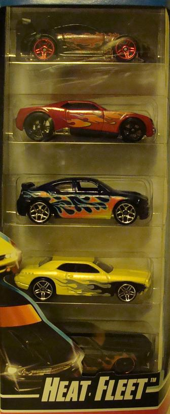 Heat Fleet 5 Pack 2008 Hot Wheels Wiki
