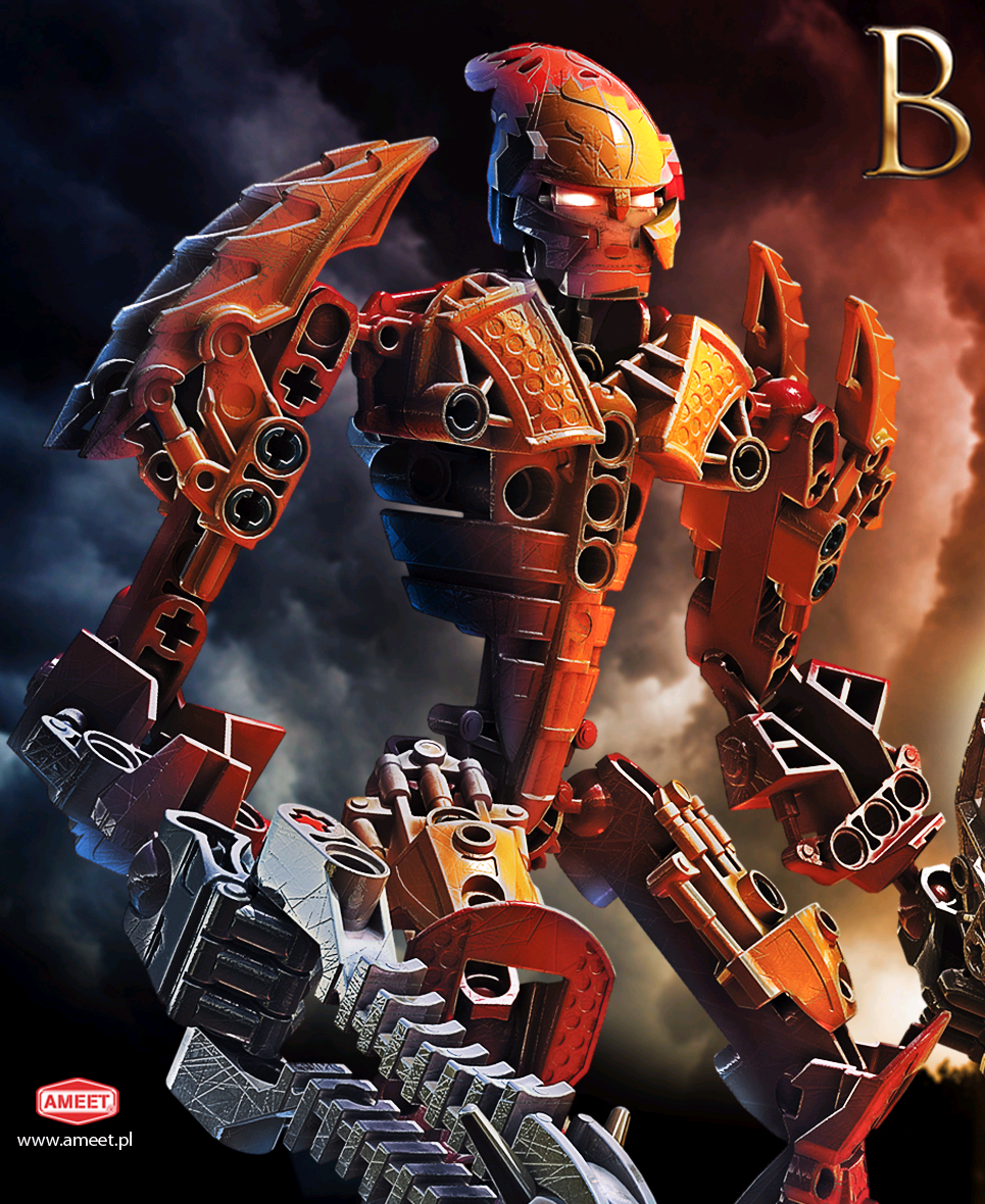 Amazon.com: LEGO Bionicle Legends Ackar: Toys & Games