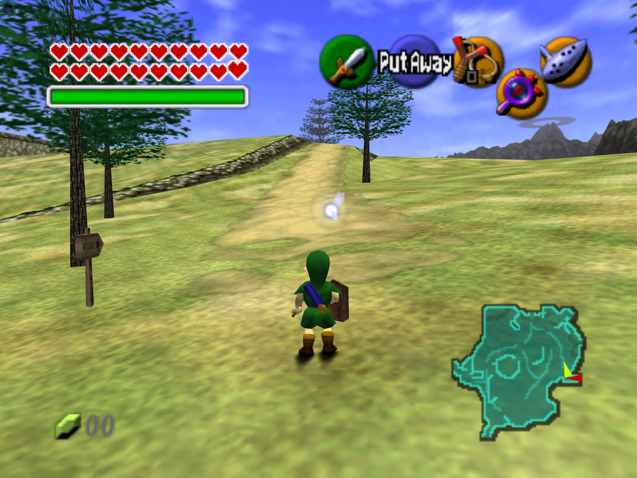 Gameplay  Ocarina of Time  pngZelda Ocarina Of Time 3ds Gameplay
