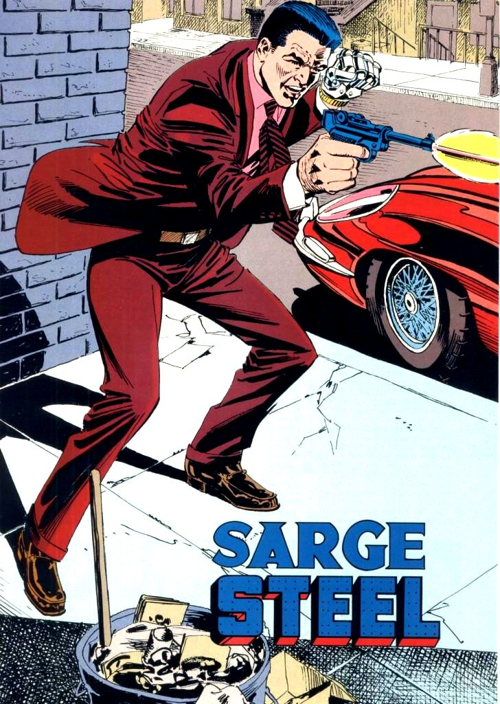 Sargent Steel (New Earth) - DC Comics Database