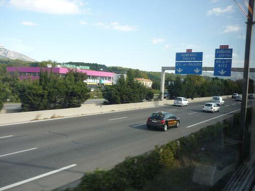 A50 autoroute