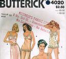 Butterick 4020 A