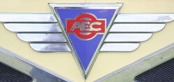 AEC Lorry Grill Badge IMG 1855