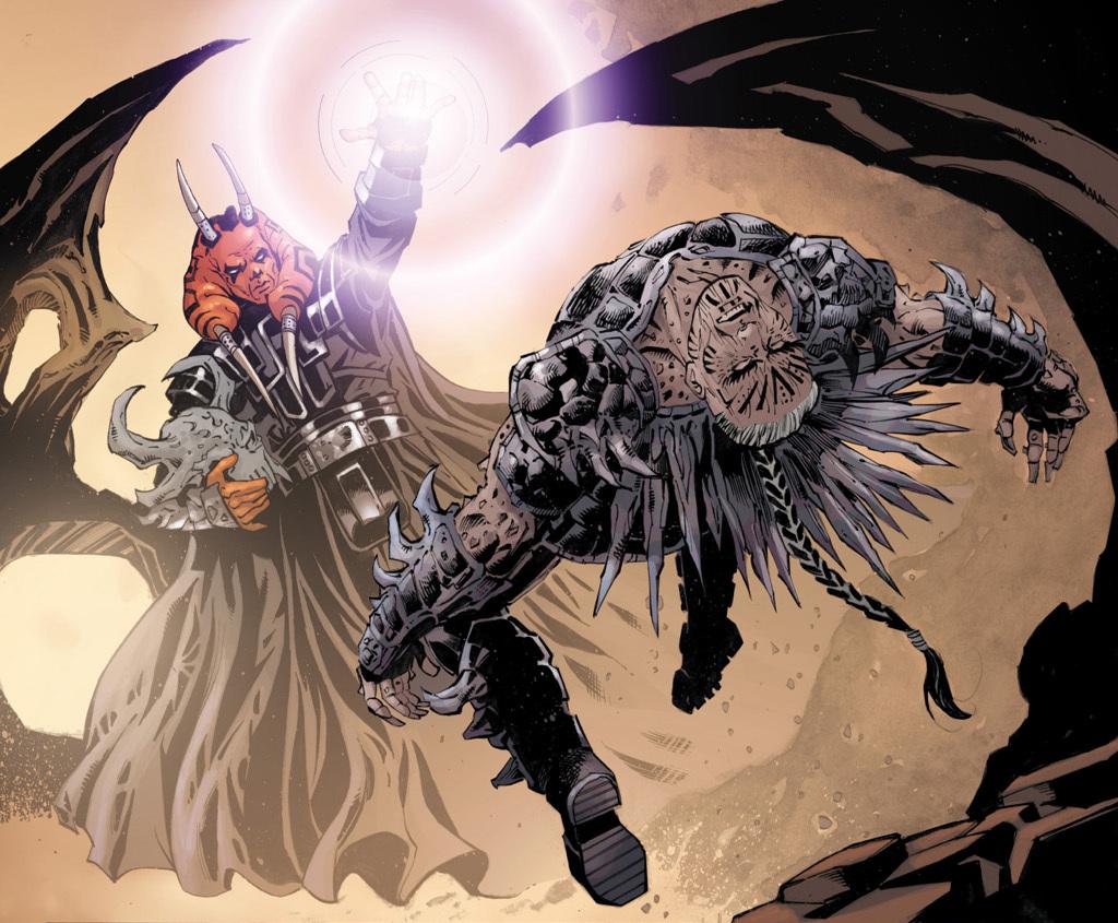 Darth Krayt vs Darth Sidious Darth Krayt's Body is