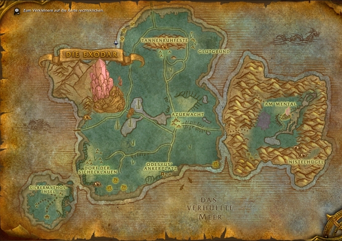 how to get to stormwind from bloodmyst isle