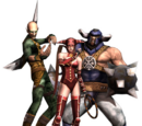 God Hand Character Images