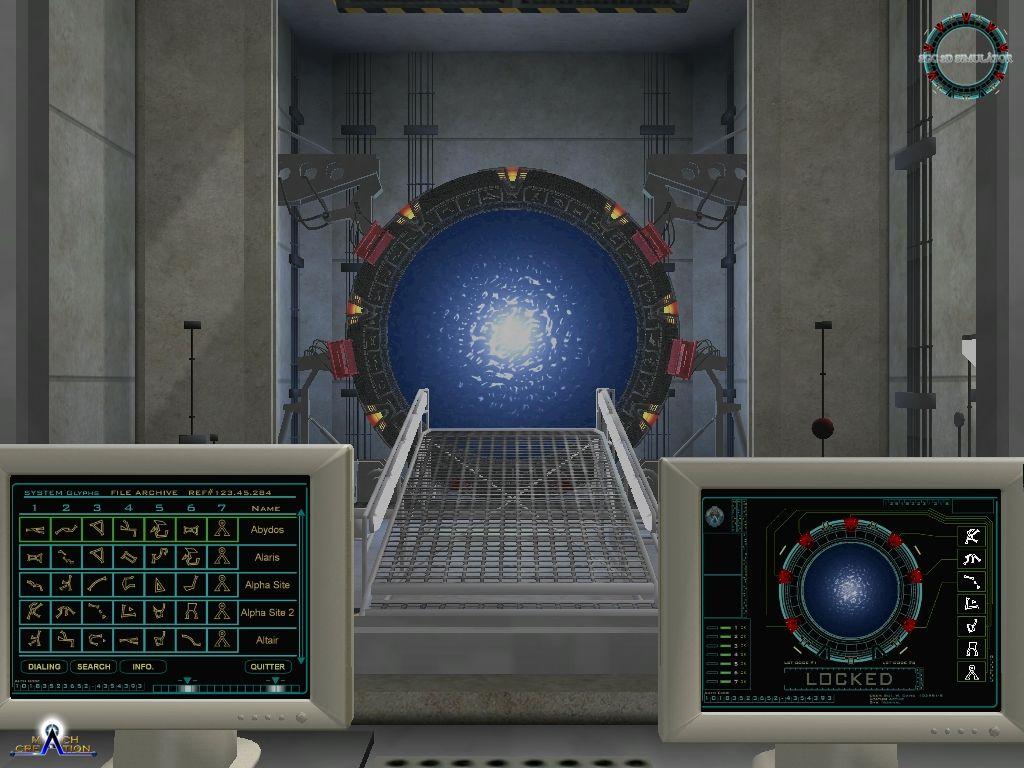 Sgc 3d simulator stargate fanprod wiki for Simulatore 3d