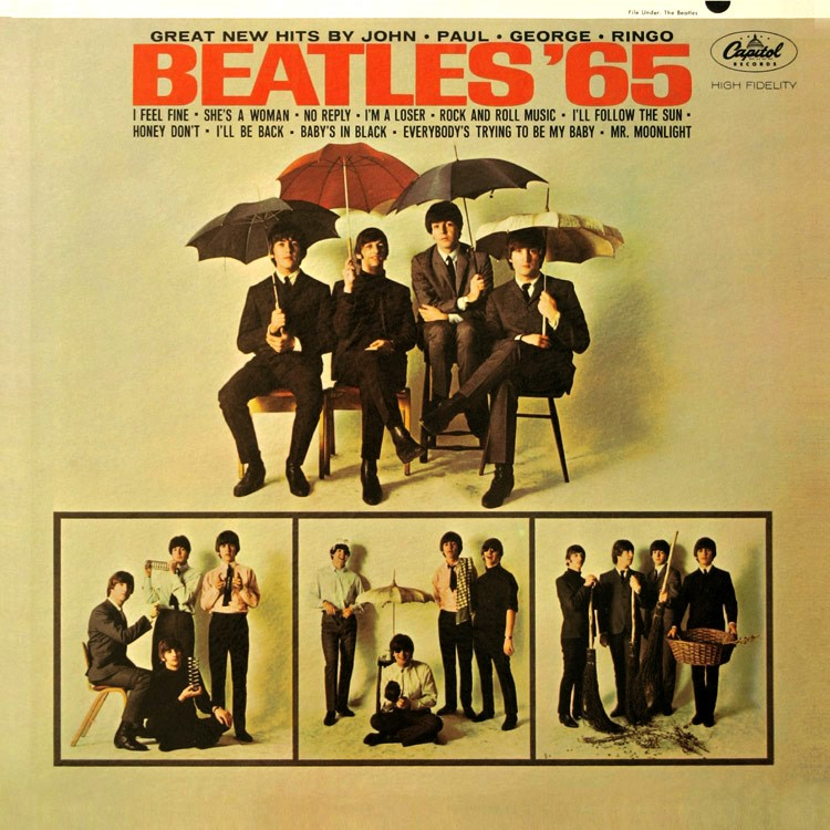 Beatles Album 1 Beatles'65 Album Cover