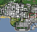 Areas in Los Santos (GTA SA)