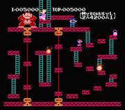 Donkey Kong Nivel 2