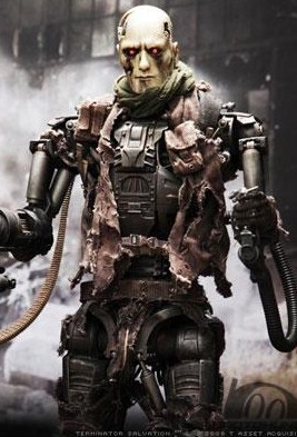 T 600 Terminator Salvation The T-600 action figure
