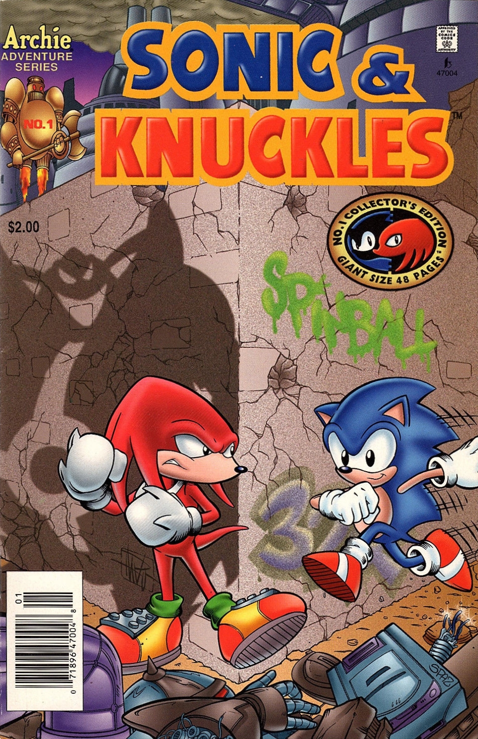 Archie Sonic Amp Knuckles Sonic News Network The Sonic Wiki