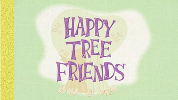 Happy Tree Friends Title Card on HD