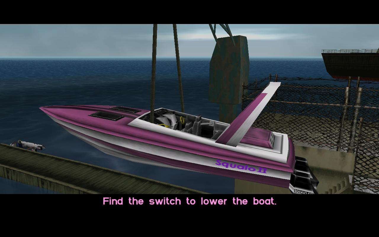 gta vice city как пройти миссию с лодкой