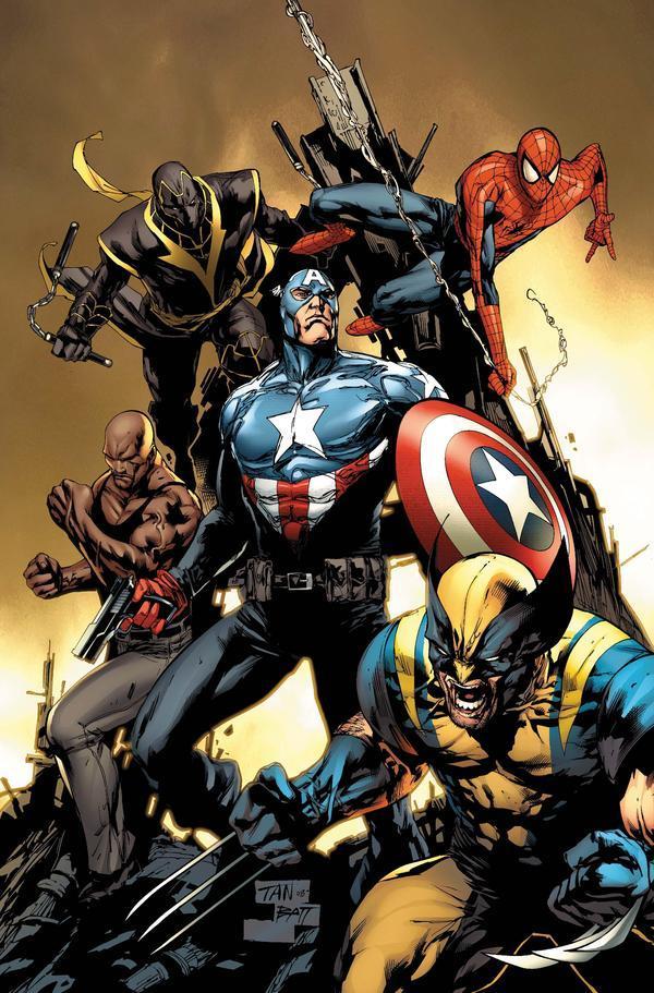 MARVEL: New Avengers Vol 2, #9 (2011) - VF+