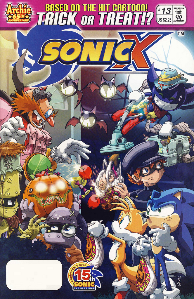 Archie Sonic X Issue 13 Sonic News Network The Sonic Wiki