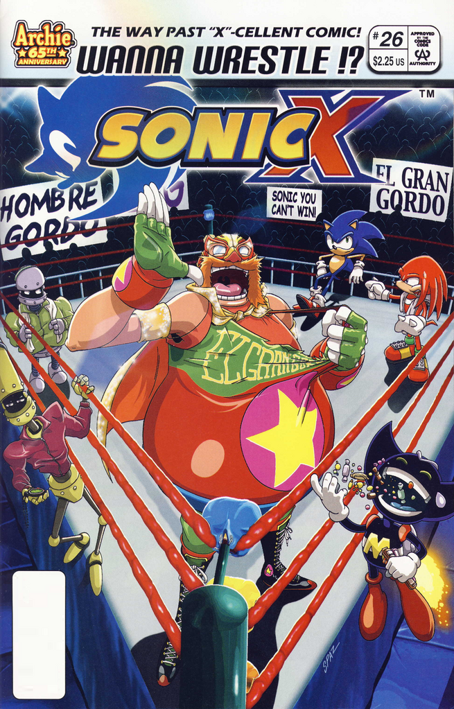 Archie Sonic X Issue 26 Sonic News Network The Sonic Wiki