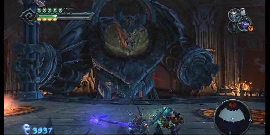 Straga - Darksiders Wiki - Wrath of War, Weapons, Enemies ...