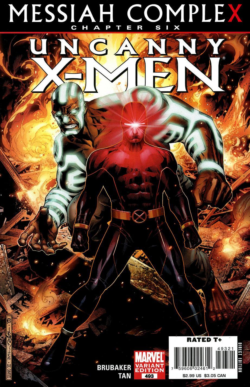 Uncanny X Men Vol 1 493 Marvel Comics Database