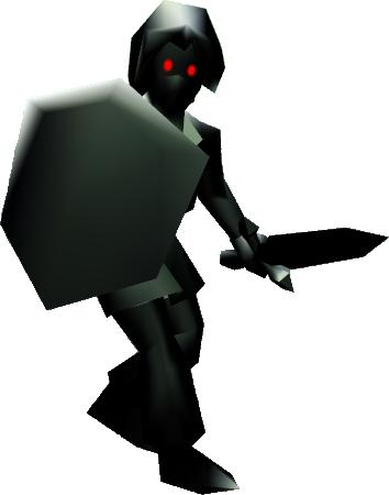 Image - Dark Link (Ocarina of Time).png - Zeldapedia, the ...