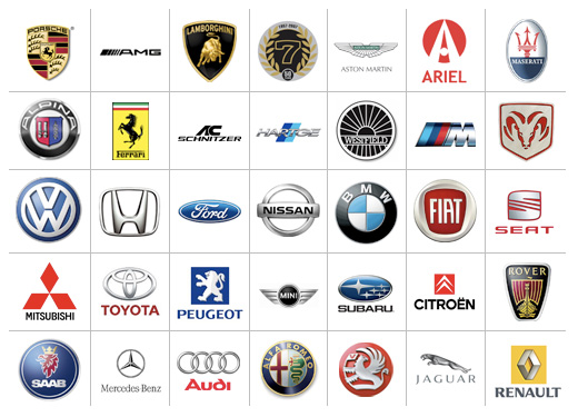 Red Automotive Logos Image - car logos 3863.jpg