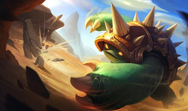 UNDERPICKED URF CHAMPION RAMMUS - THE BOTTOM LANE