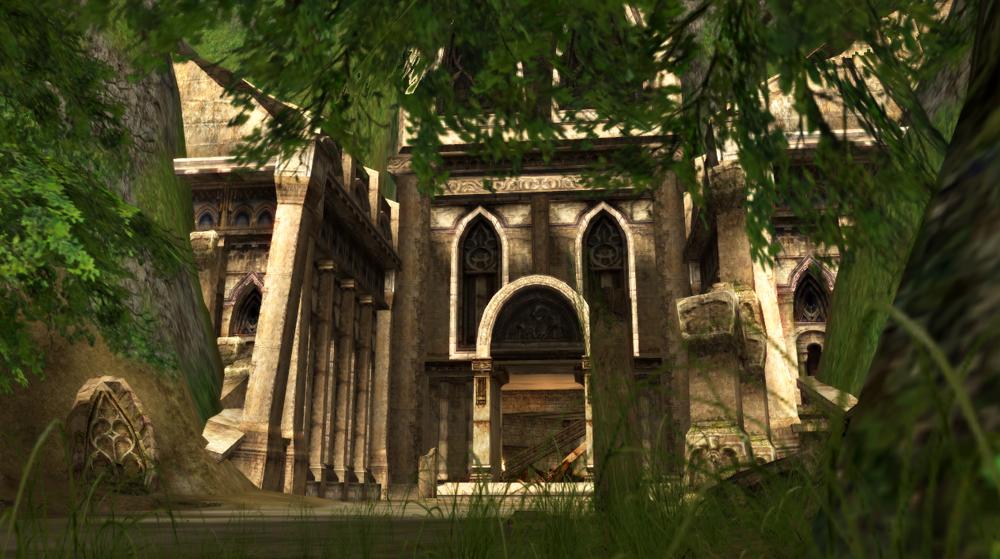 Faction Event - Tomb Raider ElvenRuinsEntry01