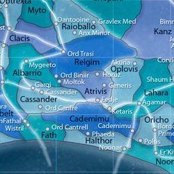 Atrivis map
