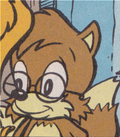 ... Pictures tails prower mobius encyclopaedia sonic the hedgehog comics